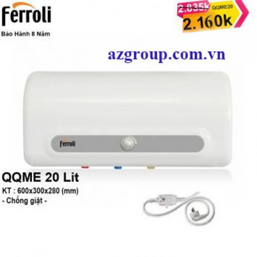 Bình Nóng Lạnh Ferroli 20 lít QQME20