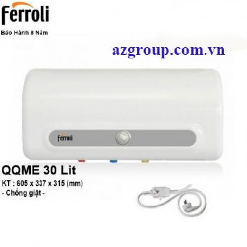 Bình Nóng Lạnh Ferroli 30 Lít QQME30